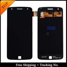 Tracking No. 100% getestet Für Motorola Moto Z Spielen LCD Für XT1635 Display LCD Bildschirm Touch Digitizer Montage