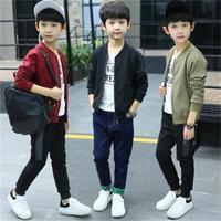 High Quality 2018 Spring Boys Jacket Bombers Military Boys Windbreaker Jackets Kids Children coat