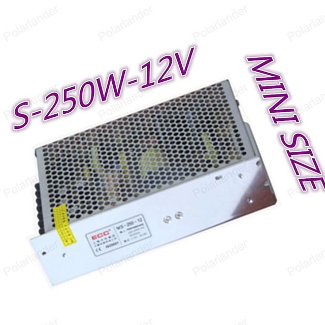 Led Supply250W 12 V 20A Comutação De Alimentação AC110/220 V para DC12V Transformador Led Driver do adaptador for8 Levou Tiras luz