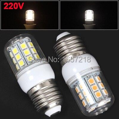 <b>220</b> В теплый белый/белый свет 5 Вт 1000LM E27 30x5050 SMD ...