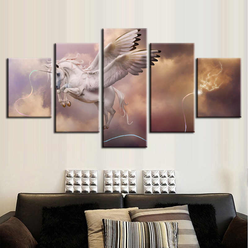5 Pieces/set Movie poster series Canvas Painting for sitting room Decoration Print Canvas Pictures Framed Free Shipping11Y-ZT-97