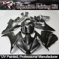 ZXMT Matte Black Gloss Black Fairing Kit for Yamaha YZF R1 2004 2005 2006 ABS Injection Bodywork UV light curing paint