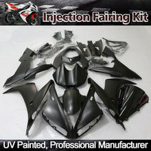 ZXMT Matte Black Gloss Black Fairing Kit for Yamaha YZF R1 2004 2005 2006 ABS Injection Bodywork  UV light curing paint