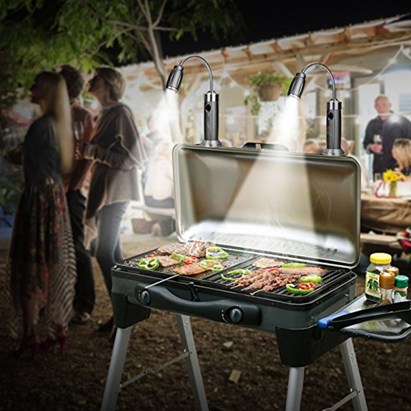 Garden Bbq Grill Light Outdoor