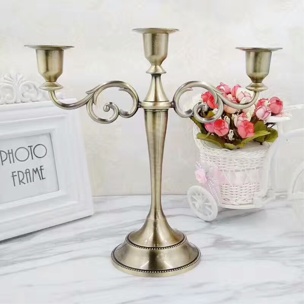 Vintage candle holder for home decor - Candle home decor photos ...