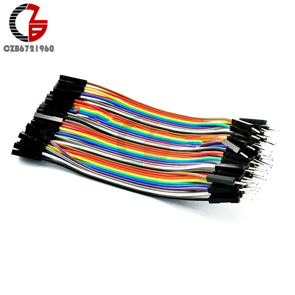 40PIN Female To Female 1P-1P Dupont 10cm Wire Jumper Cables For Arduino