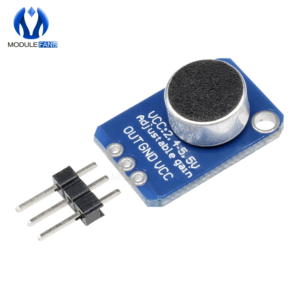 MAX9814 Electret Microphone Amplifier Module AGC Auto Gain Control for Arduin W0