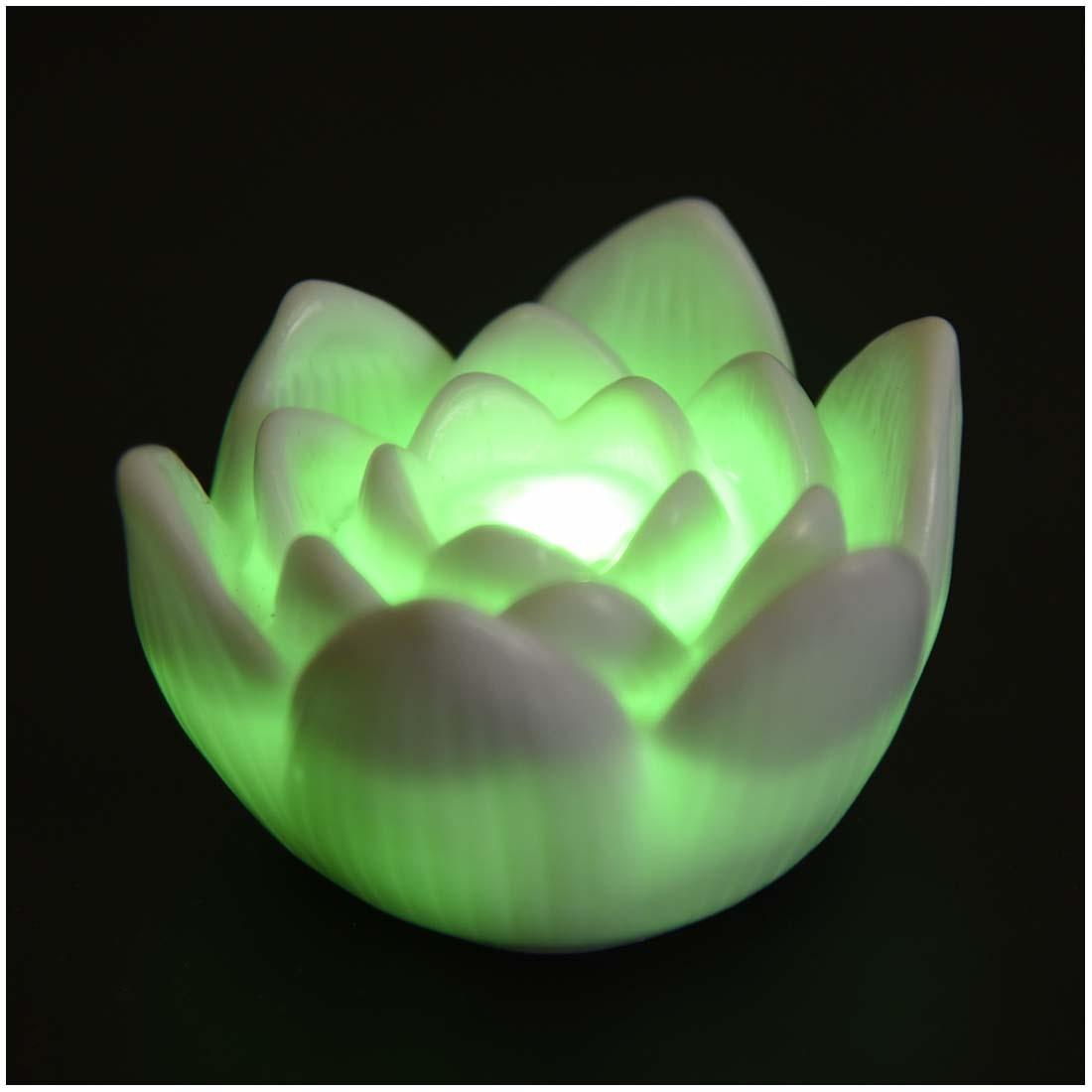 Hot Sale Color Changing Led Lotus Flower Romantic Love Mood Lamp