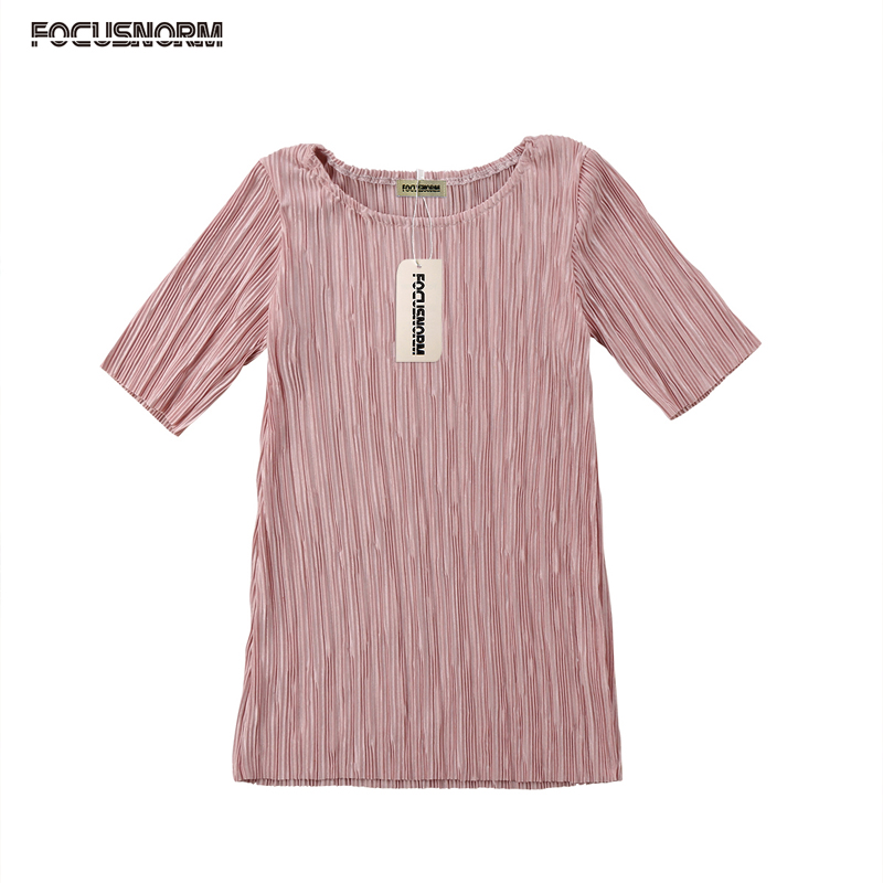 Summer Fashion Pretty Lovely New Toddler Baby Girls O-Neck Straight Solid Pink Knee-Length Princess Dress Outfit Party 6M-4Y ободки pretty mania ободок