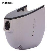 PLUSOBD Video Registrator Dash Cam DVR Car Camera For Audi A4 A5 A6 A7 Q5 A8 Q7 Fhd 1920*1080P G sensor Wifi Time&Date Display