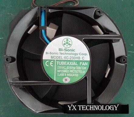 ФОТО Free shipping Bi-sonic  fan  6C-230HB C  17251 AC220V axial flow fan