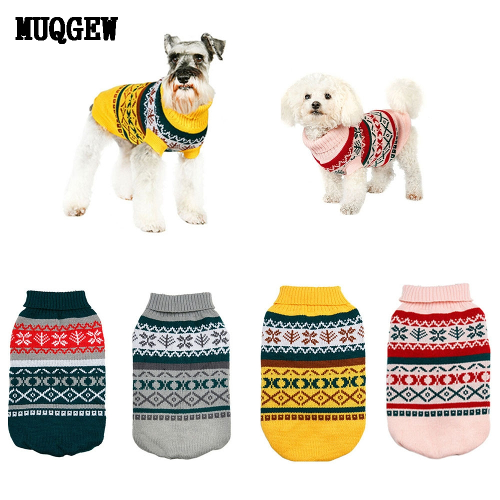MUQGEW Pet Dog Clothes Winter Chihuahua Puppy Clothes Cat For Small ...