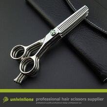 """5.5 """"multi blade nożyczki degażówki połączenie hot three rzutki nożyczki profesjonalne nożyczki do włosów nożyce fryzjerskie"""