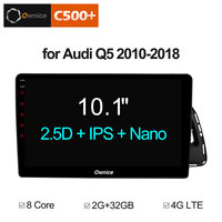 10.1 HD Ownice C500+ G10 Android 8.1 8Core 2G+32G Car DVD Radio Player for Audi Q5 2010 2018 Support 4G LTE carplay bluetooth