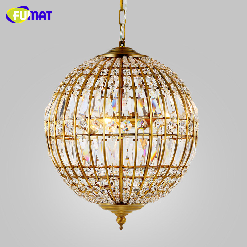 цены FUMAT American Style Chandelier Lights K9 Crystal Metal Lightings For Living Room Dining Room Artistic Art Deco LED Chandeliers
