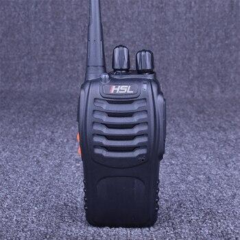HUSHILONG HSL-K1 Handheld Walkie Talkie Professional 5W 400-470MHz Frequency 16CH UHF Two Way Radio Flashlight Hf Transceiver hushilong hsl k5 hand held walkie talkie uhf 400 470mhz portable ham two way radio portable intercom amateur interphone