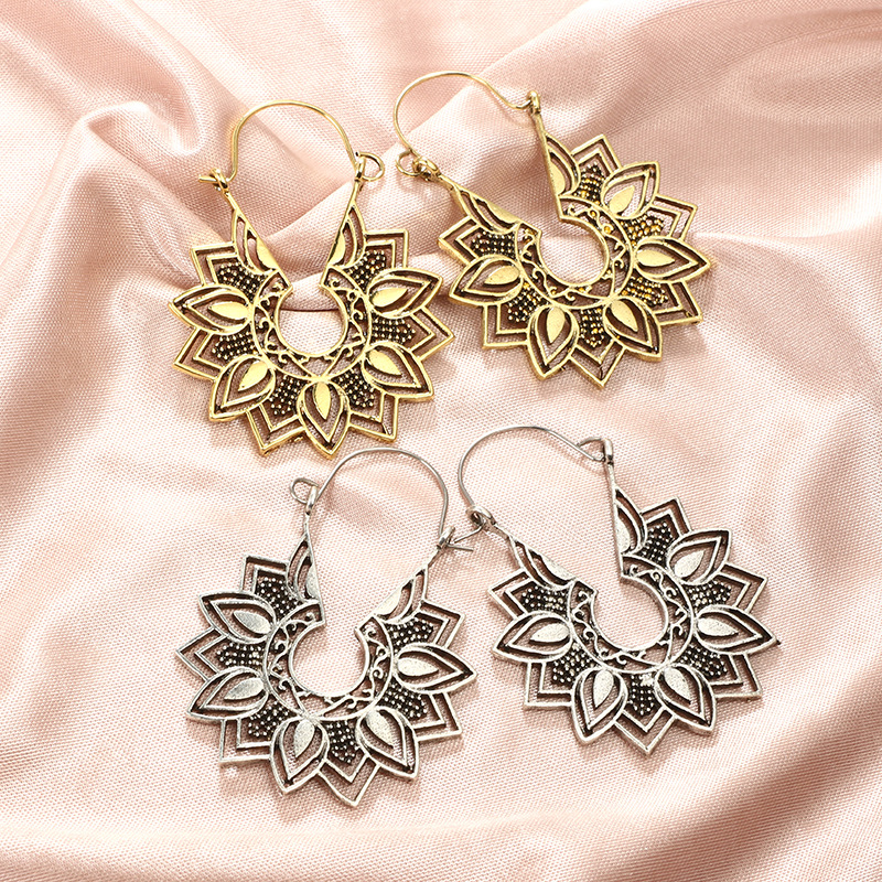 Crazy Feng Vintage Ethnic Gypsy Earrings 4