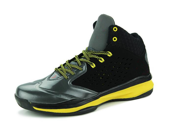 Simulators Frugal Man High-top Jordan Basketball Shoes Mens Cushioning Light Basketball Sneakers Anti-skid Breathable Outdoor Sports Jordan Shoes