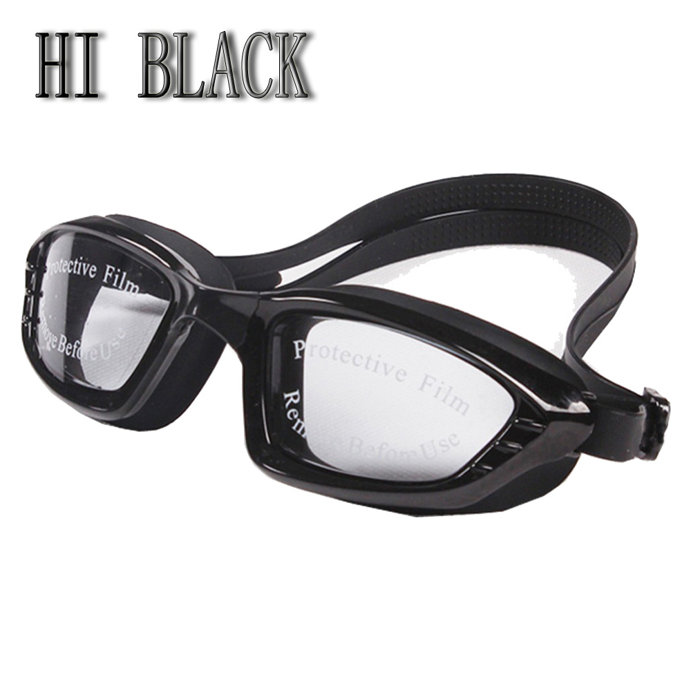 5-color adult anti-fog and anti-UV swimming glasses high quality professional plating waterproof swimming Goggles 2019 brand new