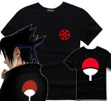 Anime Naruto Eye Symbol Cosplay T Shirts