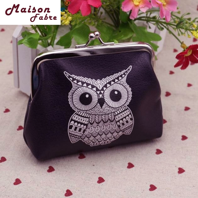 Maison Fabre Jasmine Womens Owl Wallet Card Holder Coin Purse Clutch Handbag 0301 drop shipping hcandice womens wallet card holder coin purse clutch bag handbag best gift wholesale jan29