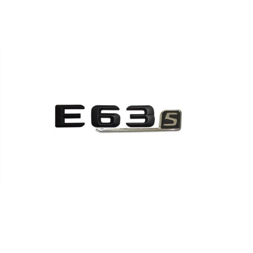 Gloss Black ABS Letters Trunk Badge Emblem Sticker for Mercedes Benz CLK55 AMG
