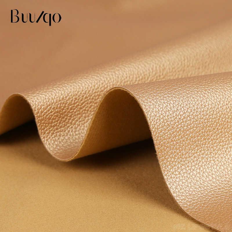 Buulqo Macio tecido de couro sofá de couro interior do carro à prova d' água material de couro lichia couro PU artificial 50*145 cm