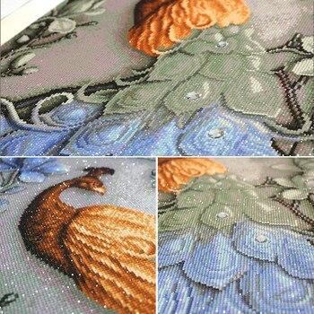 Meian,Diamond Painting,Special Shaped,Diamond Embroidery,Animal,Peacock,5D,Cross Stitch,3D,Diamond Mosaic,Decoration,Christmas 2