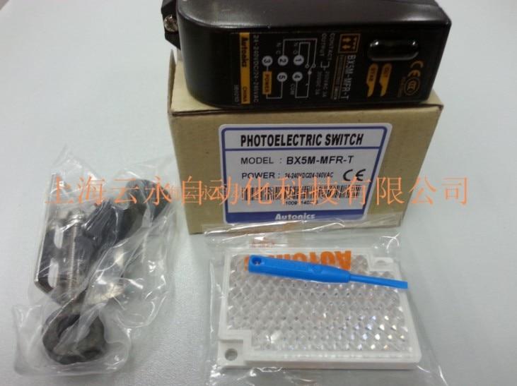 new original BX5M-MFR-T   Autonics photoelectric sensors hot sale good quality photoelectric bx5m mfr
