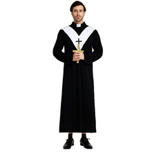 Halloween Jesus costume drama male missionary Maria white priest Christian priest Pope men cosplay clothing halloween jesus costume drama male missionary maria white priest christian priest pope men cosplay clothing