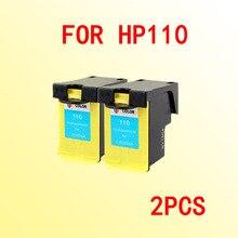 2x para HP 110 Cartucho de Tinta para CB304A hp110 A516 A526 A612 A617 A618 A626 A310 A311 A314 A316 A320