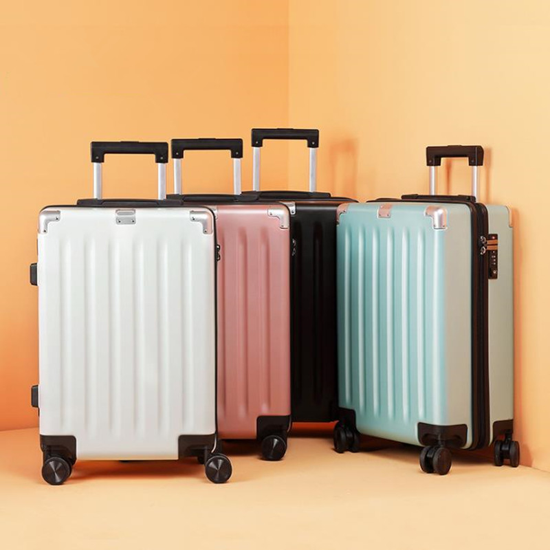 Korean version of the new business mute trolley box universal wheel convenient suitcase boarding luggage пенал для карандашей korean version of the password box