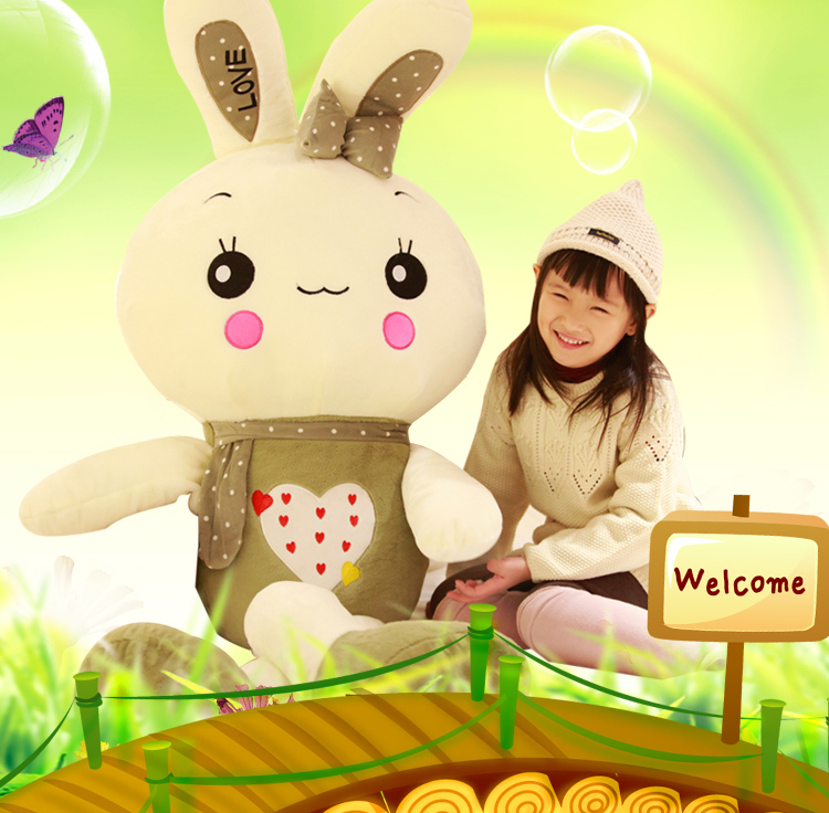 high quality goods large 150cm green rabbit plush toy ,soft hugging pillow.birthday gift 2628 mcd200 16io1 [west] quality goods