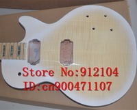 new Big John unfinished electric guitar in white with mahogany body without hardware standard guitar made in China F 1273