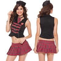 Sexy school girl costume scuola uniforme hot lingeri Impertinente escolar anime girl fantasia quente