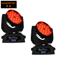 Freeshipping 2XLOT 108*3W RGBW Wash LED Moving Head Light 24 red/28 green/28 blue/28 white Edison Led 3W Free Clamp Safety Wire