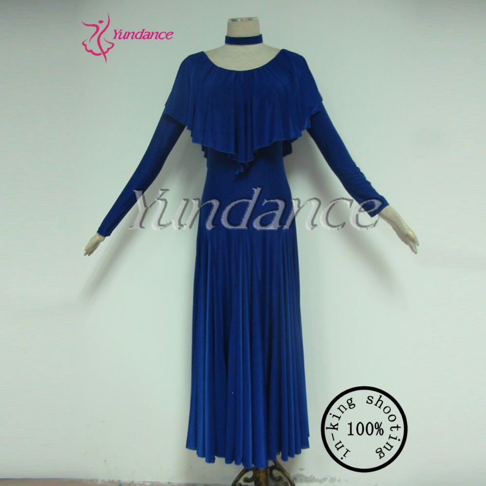 M-17 Royal Practice Dance Wear New Arrival Dresses In Yundance