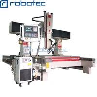 Jinan robotec 4 оси с ЧПУ древесины маршрутизатор центр, ЧПУ резьба по дереву машины, synetc управления ЧПУ