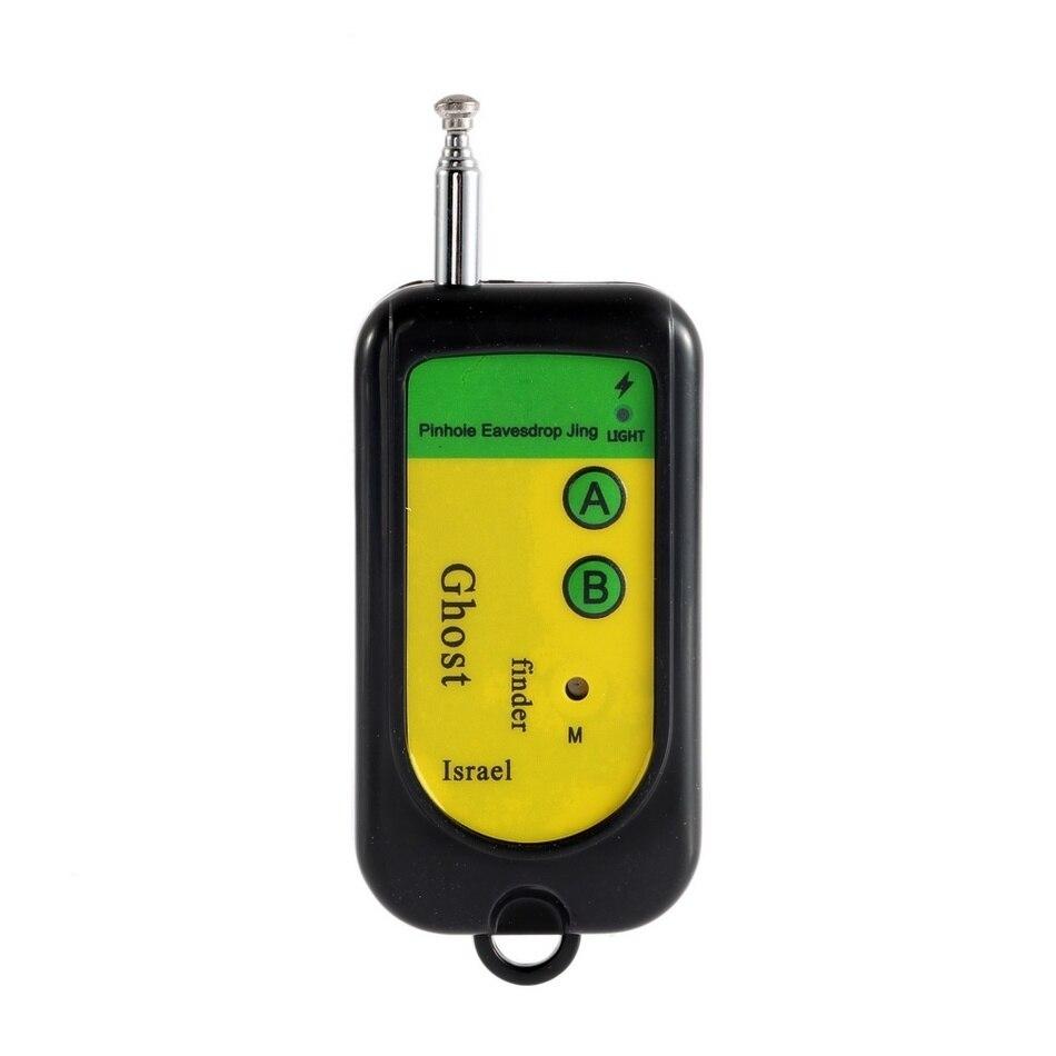 imágenes para Señal inalámbrica RF Detector de Tracer Buscador de Cámara Oculta GSM Dispositivo de Alarma 100 ~ 2400 Mhz Fantasma