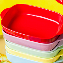Керамическая Бина Микроволновая печь специальный противень для выпечки лоток миска для духовки сыра risottolbowl выпечки Бытовая кухонная посуда