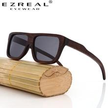 Polarized Bamboo Sunglasses Men Wooden Sunglasses Women Brand Designer Mirror Original Wood Sun Glasses Oculos de sol masculino