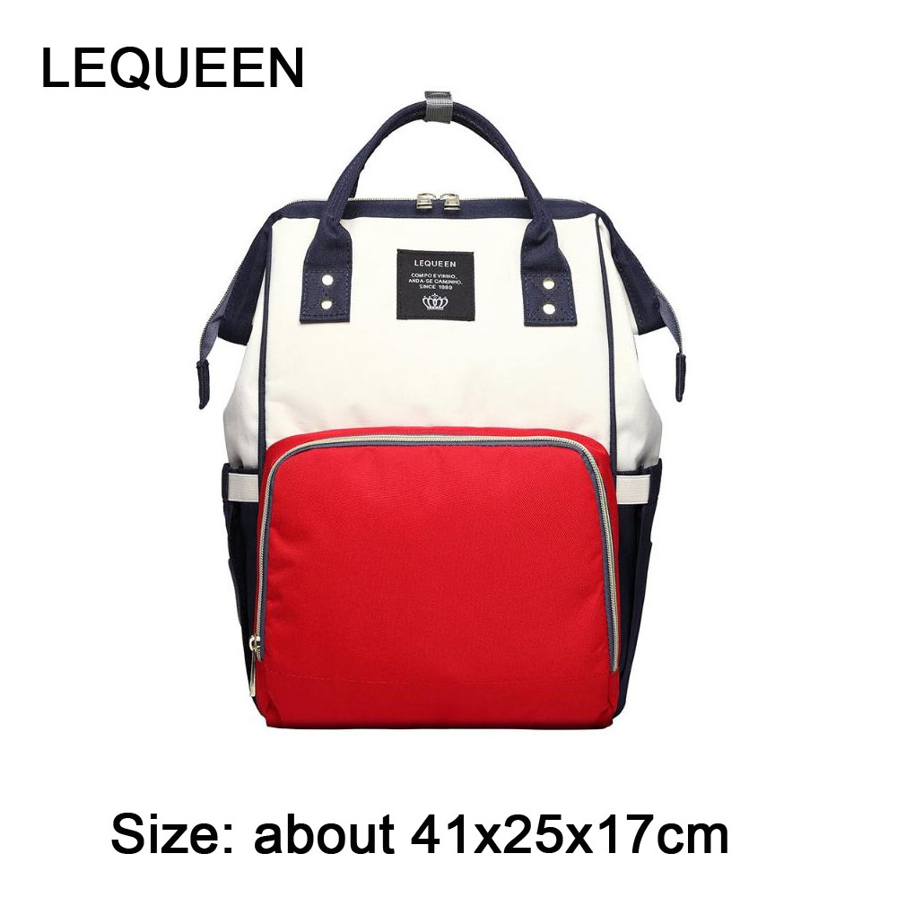97a2cfad862 US $13.38 28% OFF|Fashion Mummy Backpacks Oxford Big Backpacks for Mom  Maternity Nappy Bag Large Capacity Baby Bags Travel Shoulder Bags for  Girls-in ...
