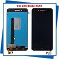 Para zte blade a610 lcd pantalla táctil 100% original asamblea del reemplazo del digitizador de la pantalla lcd del teléfono móvil