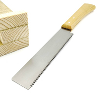 Wood Working Hand Saws Double Sides Steel Slim Tenon Fine Tooth Wood Handle