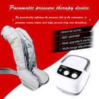 Ulepszona sześciokomorowa kompresja powietrza masażer do nóg ramię relax talia masażer do stóp w celu promowania krążenia krwi urządzenie odchudzające