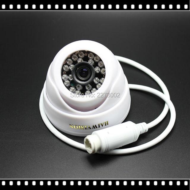 Низкой Освещенности 720 P 960 P POE Ip-камера 48 В Power Over Ethernet ИК Купольная Ip-камера Крытый ONVIF АБС-Пластик