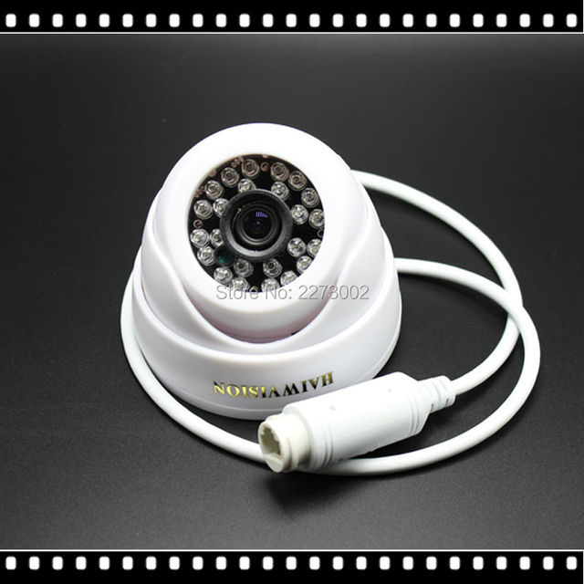 Low Illumination 720P 960P POE IP Camera 48V Power Over Ethernet IR Dome IP Camera Indoor ONVIF ABS Plastic