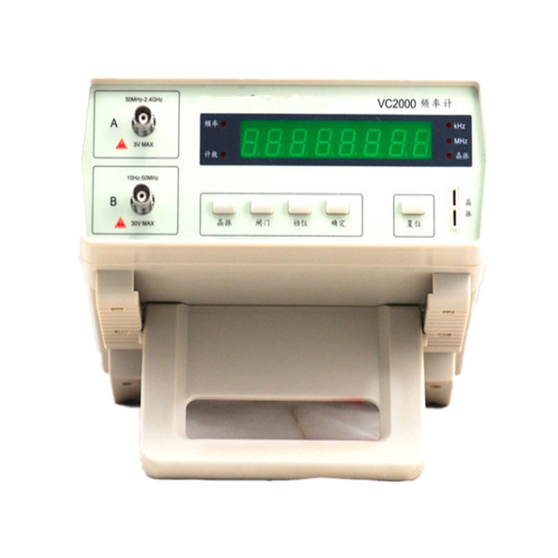 New Orginal Professional High Precision Frequency Meter Range 10HZ 2.4GHZ Measuring Frequency Monitor Digital Counter Tester