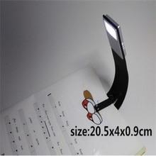 Перезаряжаемые книги освещение ночник USB зарядка раза светодиодные лампы для чтения Регулируемая изгиба
