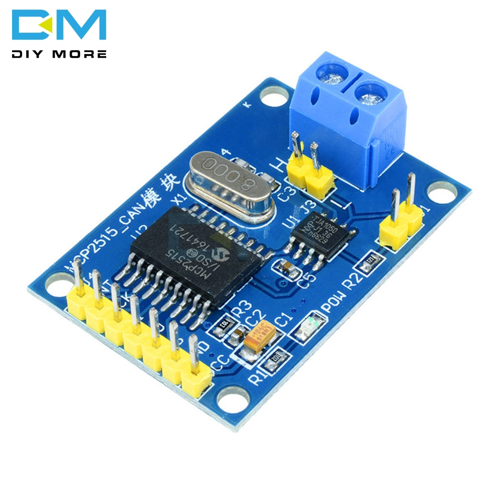 MCP2515 CAN Bus Module TJA1050 Receiver SPI Module For Arduino Support CAN V2.0B DC 5V SPI Interface 120 ohm image
